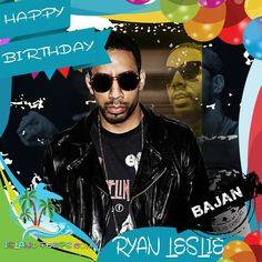 Happy Birthday Ryan Leslie!!! R&B Singer / Producer born of Bajan descent!!! Today we celebrate you!!! @RyanLeslie #RyanLeslie #islandpeeps #islandpeepsbirthdays #Superphone #MusicProducer #Singer #Barbados
