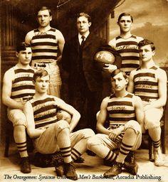 The Syracuse Orangemen 1904–1905 team photograph.