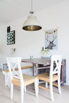 My Houzz: Revamped Flea Market Finds add personality to a Dutch home - eclectic - dining room - amsterdam - Louise de Miranda