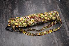 yoga mat bag HIPPIE flower FLORAL PILATES eco-friendly by lapayoga