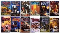 The Wheel of Time Series - Robert Jordan  Epic Fantasy, Adventure