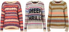 ANNAWII ♥ - PATTERNED SWEATERS