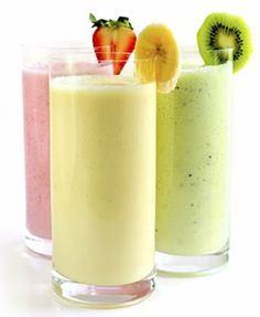 These healthy smoothie recipes deliver great flavor plus plenty of nutrients. If you're looking for high-protein smoothies, we've included those, too. Here, all the smoothie recipe healthy action you need. Fruit Smoothies, Diabetic Smoothies, Smoothie Drinks, Smoothie Recipes, Breakfast Smoothies, Avocado Breakfast, Smoothie Detox, Breakfast Recipes, Vegan Smoothies