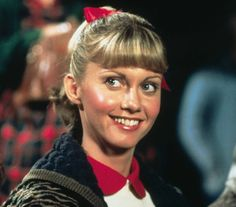 Olivia Newton-John as Sandy Olsson in Grease (1978).