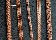 Виды оплеток для плетения украшений из проволоки от Анатольевича - http://magazin-rukodel.ru/