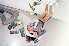 Urban Outfitters / photography by Charlie Engman. #pineapple #fashion