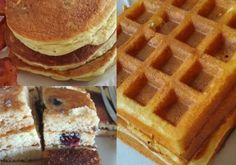 This keto-friendly batter works great for either pancakes or waffles, producing an end product that is delicious, fluffy, and disturbin...