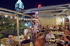 Iron Cactus, Austin, Texas from America's Best Rooftop Restaurants Slideshow