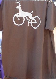 Portland bike and stag