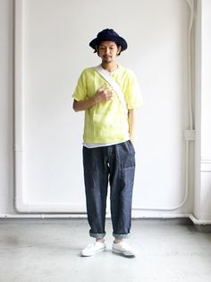 maillot Linen Pocket Shirt-Tee (リネンポケットシャツTee) MAS-16232