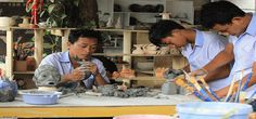 Hope center - an artistic vocational center for the disadvantaged (agent orange, etc)