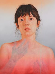 Jenny Morgan. Finding Anna, oil on canvas, 43 x 32.5 in, 2011