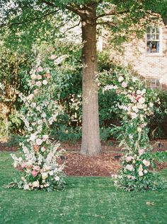 Deconstructed Ceremony Arch  Photography: Forage and Film www.forageandfilm.com  Design: Meristem Floral www.meristemfloral.com  #ceremony #arch #floral #installation #backdrop #arbor #wedding #flowers