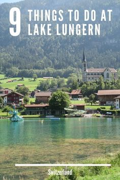 There are so many things to do at Lake Lungern in Switzerland. You can go swimming cycling hiking or kayaking. Dundlebach waterfall is another must-see place! babies flight hotel restaurant destinations ideas tips Europe Travel Guide, Backpacking Europe, Spain Travel, Travel Guides, Travel Destinations, Travel List, Travel Hacks, Travel Packing, Solo Travel