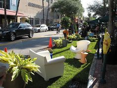 Park(ing) Day: reclaim public space for people!