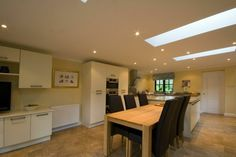Garage Conversion into a kitchen, dining, entertaining area.