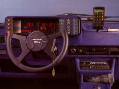 1982 BB Volkswagen Polo Carat – time machine and calculator came standard in the '80s.
