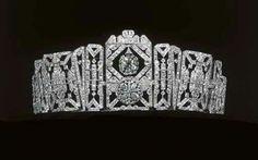 1925 Art Deco tiara of Doreen, Lady Brabourne.