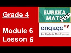 EngageNY/Eureka Math Grade 3 Module 4 Lesson 6 This fixes a previous version in which a bug in ExplainEverything caused the audio and video tracks to separat. Eureka Math 4th Grade, 2nd Grade Math, Grade 3, First Grade, Engage Ny Math, Math 2, Readers Theater, Social Thinking, Math Lessons