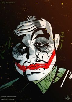 The Dark Knight by Cordero Art, via Behance