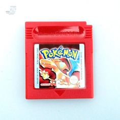 Nintendo Gameboy POKEMON Rot Rouge Red - cyan74.com vintage & pop culture