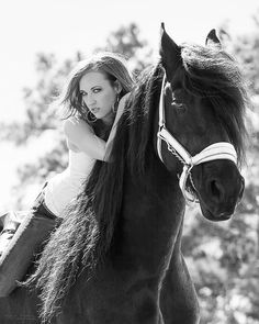 Me and Cyrus! Taken by R4Photography. Beautiful Friesian. :)