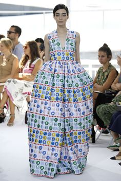 Delpozo, SS16 Ready-to-Wear Collection.