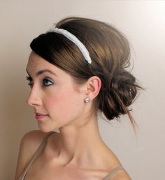 How to Wear Headbands with an Updo Hairdos With Headbands Designer | Fashion Today