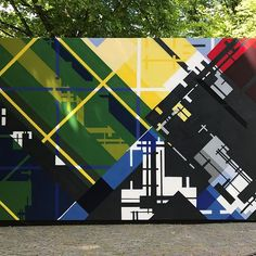 #artfuladventures Stroll challenge day 29: Geometric. I took this photo last weekend. I visited the temporary open air museum in an old part of the city, celebrating 100 years of De Stijl. It features artworks from contemporary artists influenced by De Stijl. This year it's 100 years ago that Theo van Doesburg established a journal called De Stijl in Leiden, to showcase the artistic philosophy of the Dutch art movement De Stijl. World-famous artists like Piet Mondriaan, Gerrit Rietveld and…