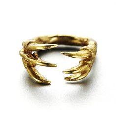Dino Claw Ring, $72, Fab.