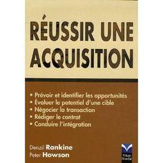 Réussir une acquisition Acquisition, Reading, Livres