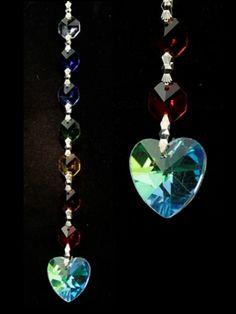 Aurora Hart Feng-Shui chakrakristallen - 20 cm - bestellen