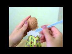 (AULA 17- Parte 3) Curso de Biscuit para Iniciantes - Boneca