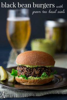 Vegan burgers, Burger recipes and Burgers on Pinterest