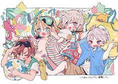 Anime Chibi, Hetalia Chibi, Yandere Anime, Hetalia Fanart, Pretty Art, Cute Art, Hetalia America, Hetalia Characters, Mini Canvas Art