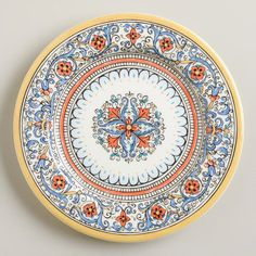 One of my favorite discoveries at WorldMarket.com: Porto Salad Plates, Set of 4