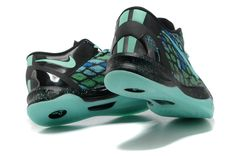 Nike Kobe 8 Year of the Snake Turquoise B lack SkyBlue Mamba Green  Basketball Shoes 71dd933ff