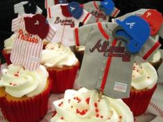 Baseball Cupcakes: Opening Day of Major League Baseball |