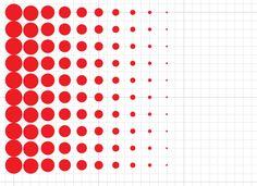 factor[e] :: Make Halftone Dots using Illustrator's 'Transform Each' Command Glass Film Design, Art Supplies Storage, Photoshop Illustrator, Landscape Pictures, Geometric Art, Graphic Design Illustration, Painting Inspiration, Illustrators, Pop Art