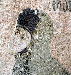 Maria of the Mongols Mosaic Art, Mosaics, Byzantine, Emperor, Costume Design, Captain Hat, Istanbul, Daughter, Christian