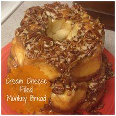 Cream Cheese Filled Monkey Bread