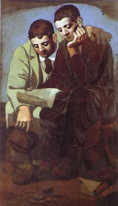 Picasso, Pablo (1881-1973) - 1921 Reading of Letter (Musee Picasso, Paris)