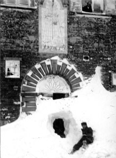 Snow in Urbino 1932