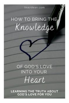 Sometimes we grasp the knowledge of God's love with our minds, but it doesn't seem sink into our hearts. Here's how I came to believe in my heart that the love of God is a personal love—for you and for me. #loveofgod #loveofjesus Christian Music, Christian Living, Christian Life, Christian Quotes, Love Scriptures, Bible Verses, Deep Love, Jesus On The Cross, God Loves You