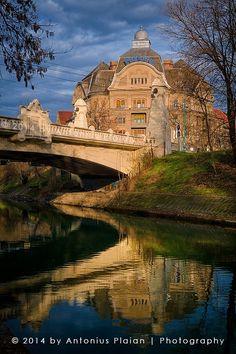 Timișoara - Podul Aleii Parcului & Băile Neptun