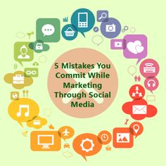 5 Mistakes You Commit While Marketing Through Social Media Today, many businesses have realized the importance of social media marketing. For More:   https://www.thomsondata.com/article/5-mistakes-on-social-media.php