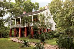 A House on the Bayou – Garden & Gun Louisiana Bayou, Louisiana Homes, Louisiana History, Louisiana Plantations, Abandoned Plantations, Louisiana Creole, Garden And Gun Magazine, Colonial, La Malmaison