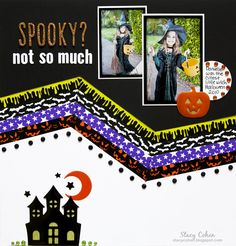 New Halloween Themed Bling Book and Trendy Tape Boxed Set from Queen and Company - Scrapbook.com