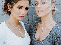 Julianne Hough, Nina Dobrev Front The Giving Keys New Best Friend Line