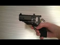 How To Build Very Simple Lego Revolver (WORKING) - YouTube
